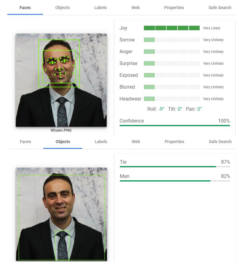 Google Vision AI