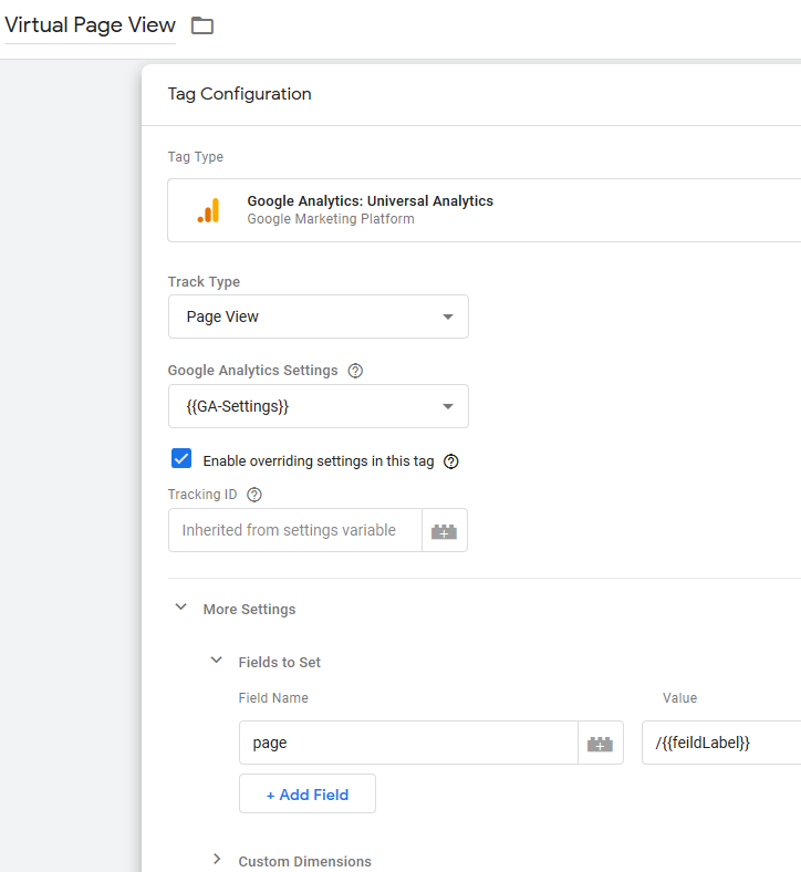 Google-analytics-virtual-pageview